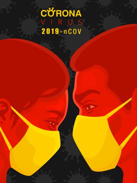 stockillustraties, clipart, cartoons en iconen met stop het coronavirus - tears corona