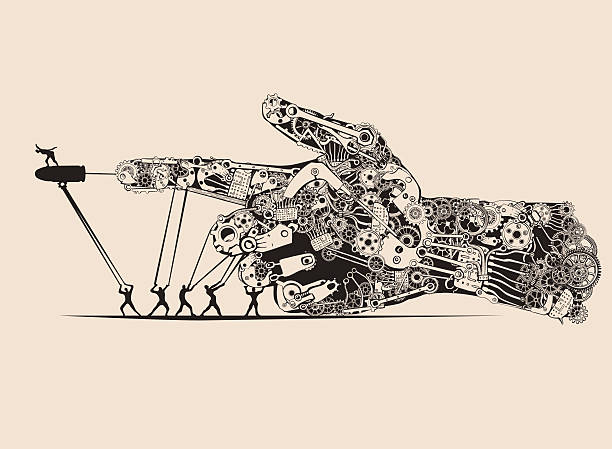 Stop the war. vector art illustration