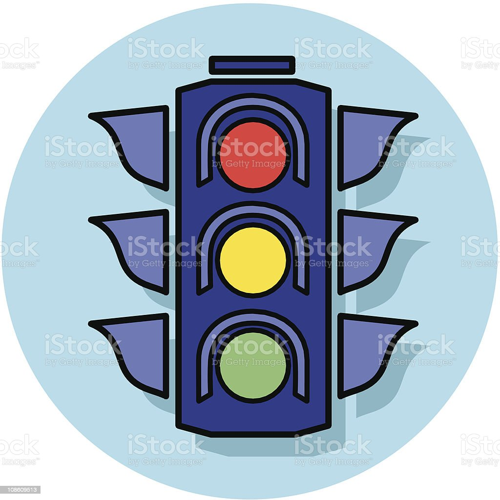 stoplight icon royalty-free stoplight icon stock vector art & more images of city