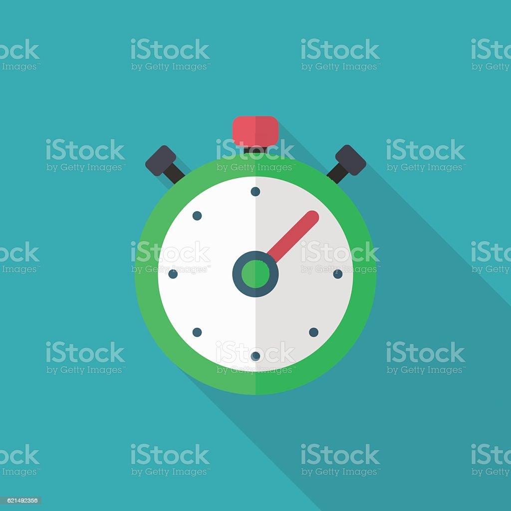 Stoppuhr-Symbol  Lizenzfreies stoppuhrsymbol stock vektor art und mehr bilder von computergrafiken