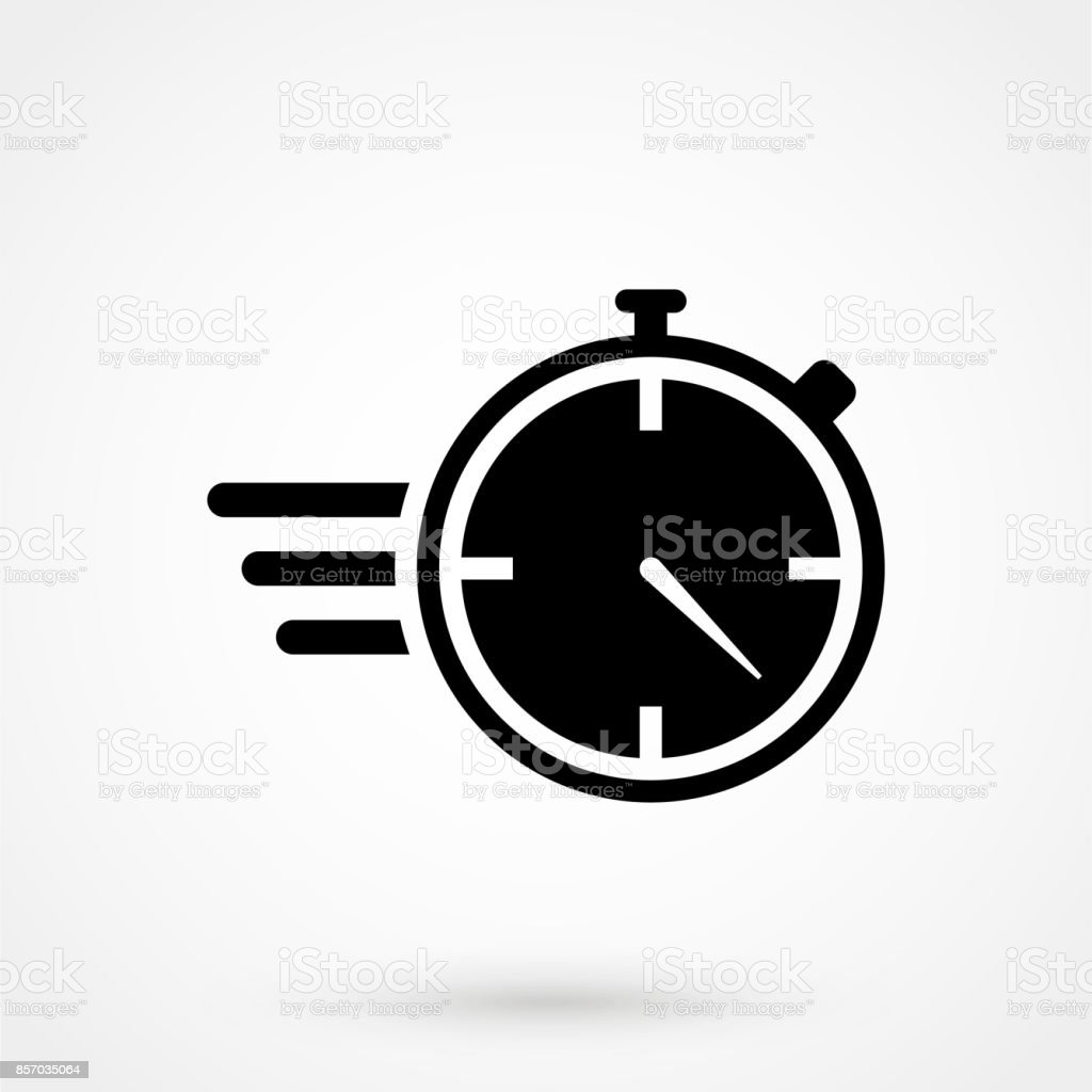 Stopwatch Stop Watch Timer Flat Icon For Apps And Websites