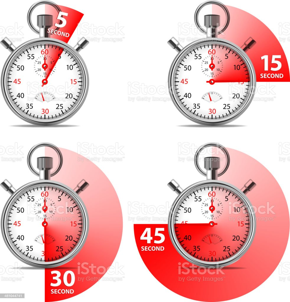 Stopwatch royalty-free stopwatch stock vector art & more images of accuracy