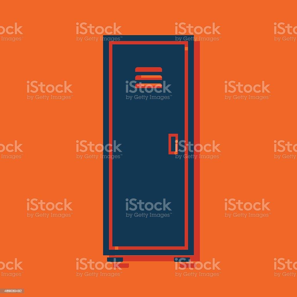 storage icon vector art illustration