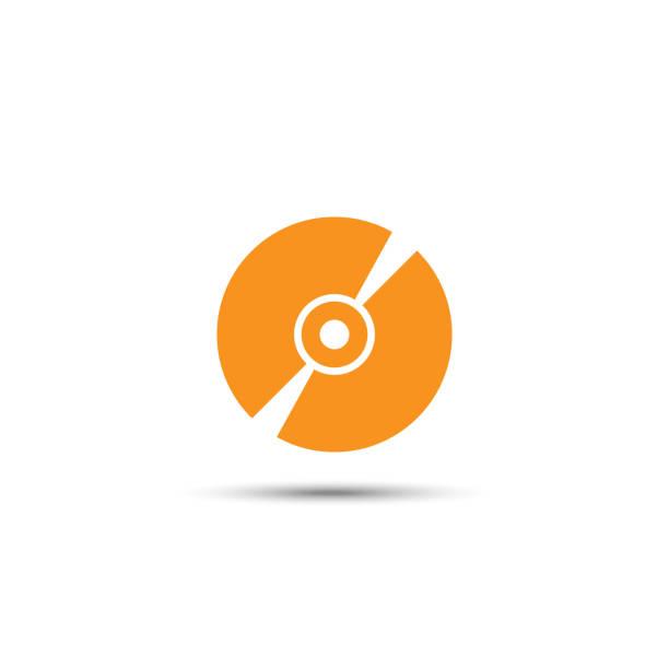 ilustrações, clipart, desenhos animados e ícones de ícone contínuo do armazenamento de dvd nos fundos brancos - cd