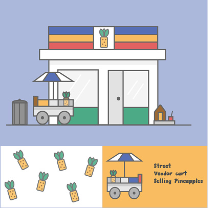 Store front vector illustration