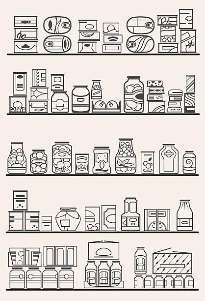 Best Food Pantry Illus...Clip Art For Food Pantry