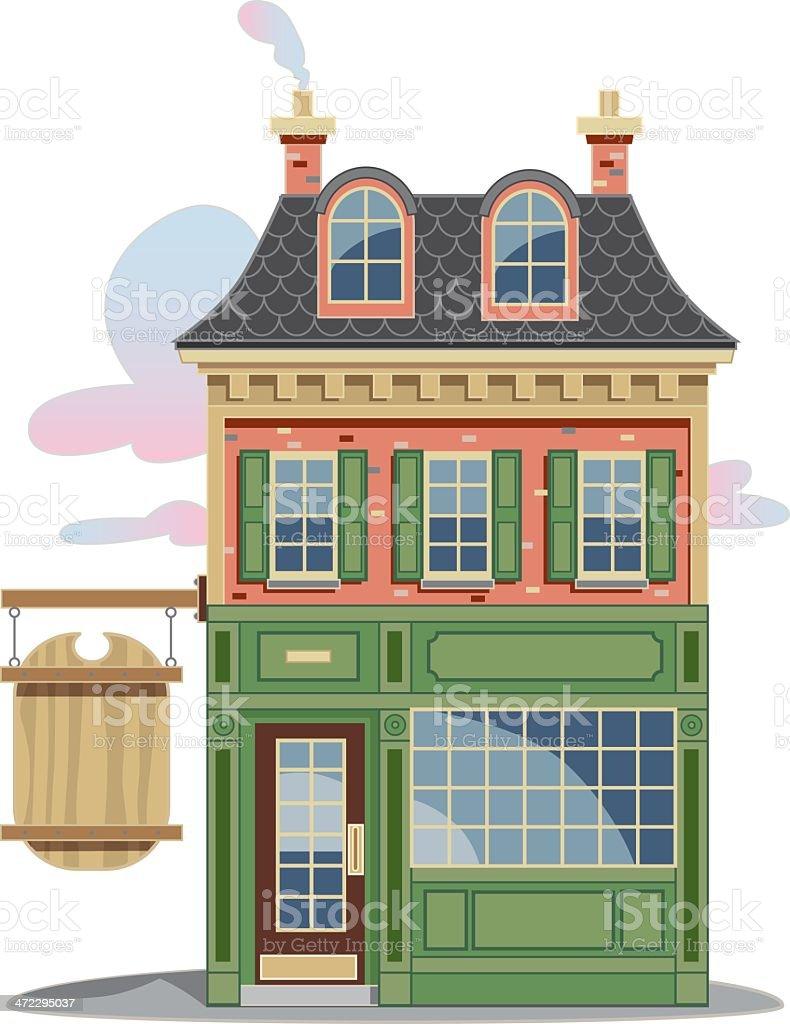 Storefront – Vektorgrafik