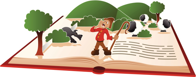 Story book - The Boy Who Cried Wolf
