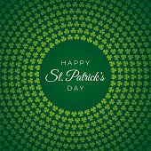 St.Patrick's day background for advertising, banners, leaflets and flyers - Illustration