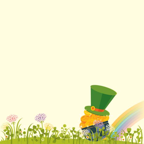 St.Patrick's Day Background vector art illustration