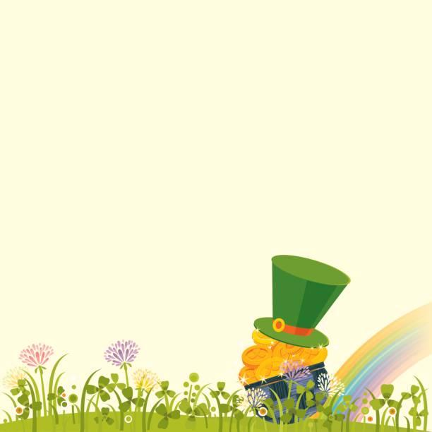 St.Patrick's Day Background vector art illustration