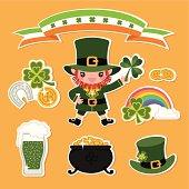 Set of St.Patrick's Day Symbols.