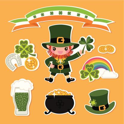 St.Patrick's Day Symbols.