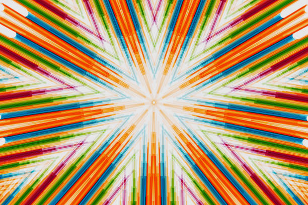 straight lines abstract background. Modern design with colorful tone for use background – artystyczna grafika wektorowa