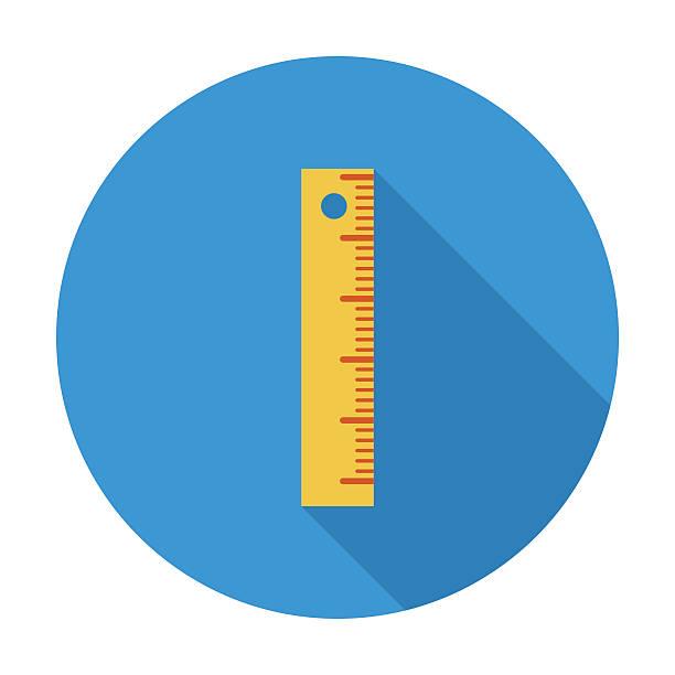 Straightedge Straightedge. Single flat color icon. Vector illustration. ruler stock illustrations