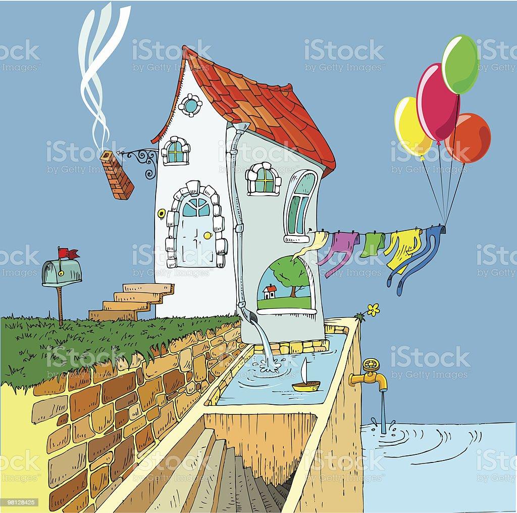 strange house royalty-free strange house stock vector art & more images of architecture