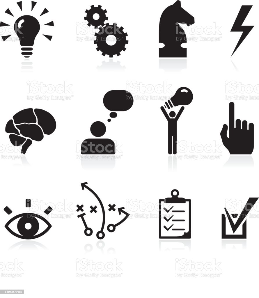 royalty free vector clip vector images illustrations istock strategy and development conceptual vector icon set royalty free vector stock vector more