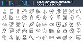 Strategy and Management Icons Collection