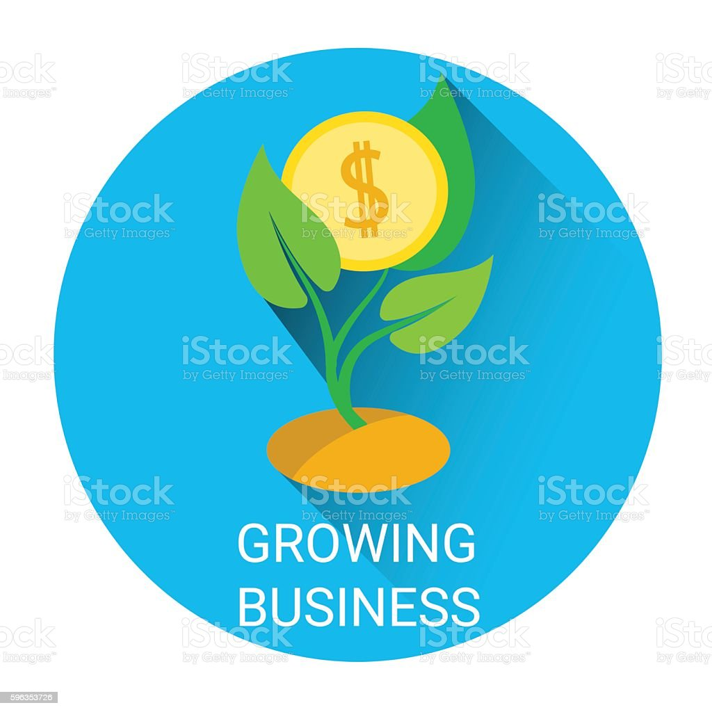Strategy Growing Business Tree Economy Icon royalty-free strategy growing business tree economy icon stock vector art & more images of bank