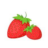 istock Strawberries Fruit Icon 1297179448