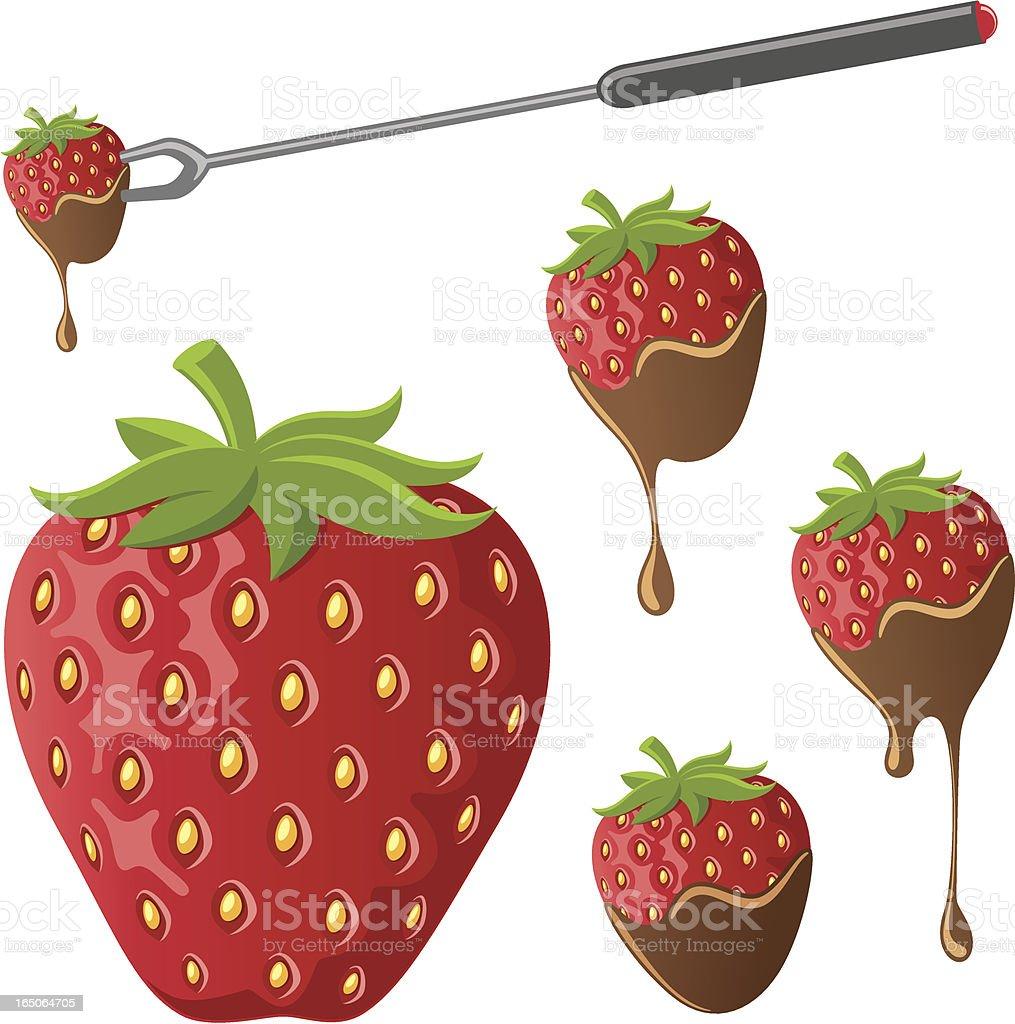 Strawberries - incl. jpeg vector art illustration