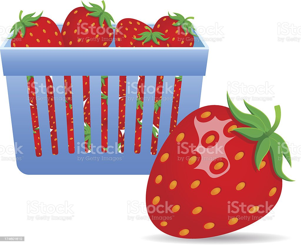 Strawberries royalty-free strawberries stock vector art & more images of agriculture