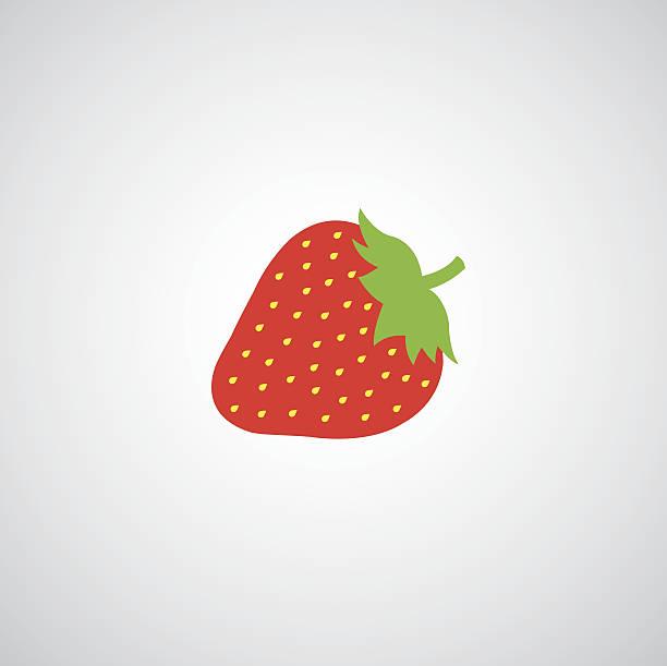 illustrations, cliparts, dessins animés et icônes de fraise apple illustration - fraise