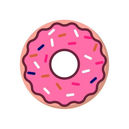 Strawberry donut