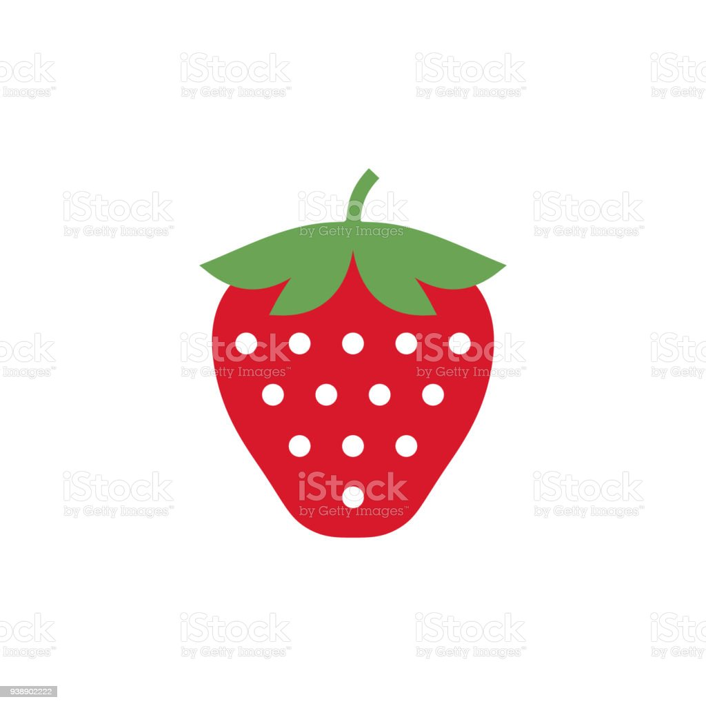 strawberry icon simple design strawberry icon clip art clipart rh istockphoto com simple clip art designs simple clip art library
