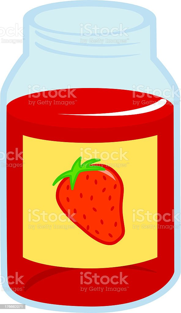 strawberry marmalade jar royalty-free strawberry marmalade jar stock vector art & more images of berry fruit