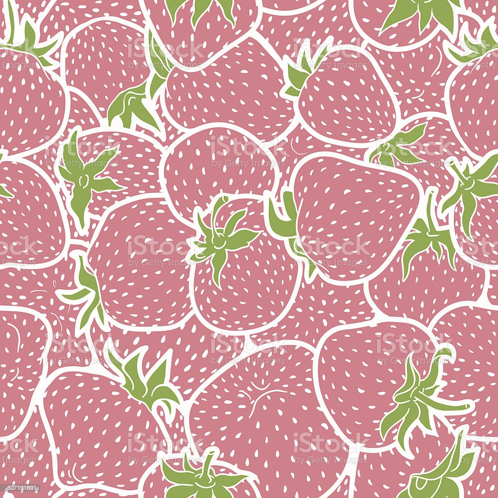 Strawberry pattern royalty-free strawberry pattern stock vector art & more images of antioxidant