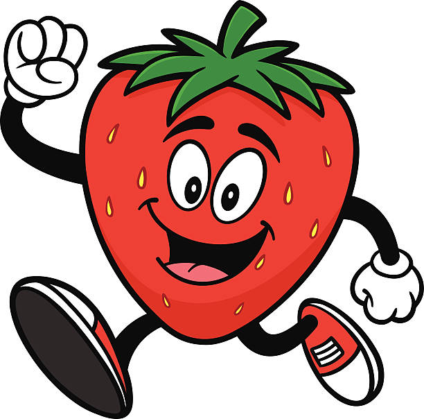 Animated Strawberry Clip Art Royalty Free Car...