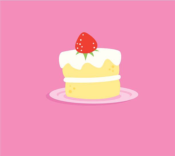 ショートケーキ イラスト素材 Istock