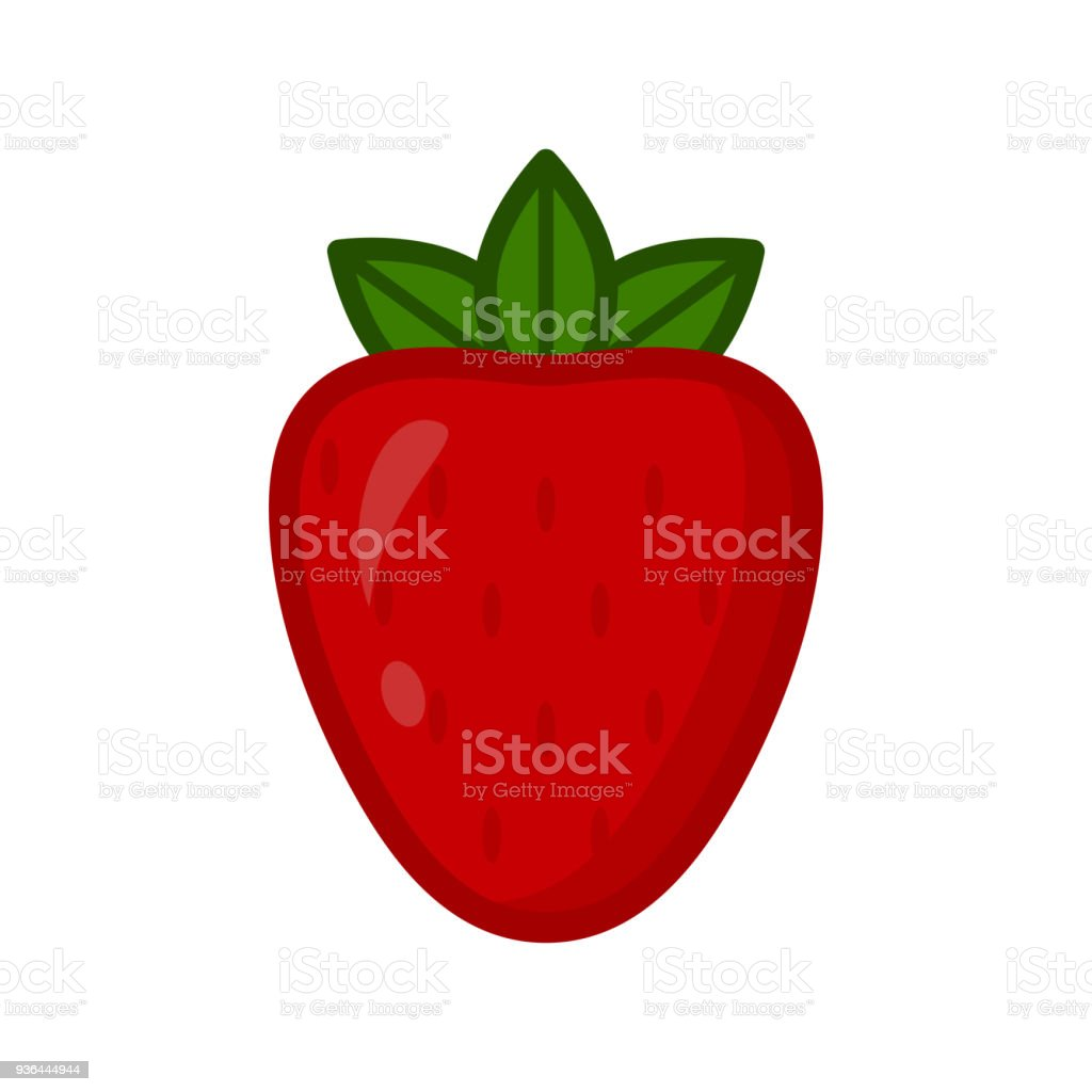 strawberry vector download