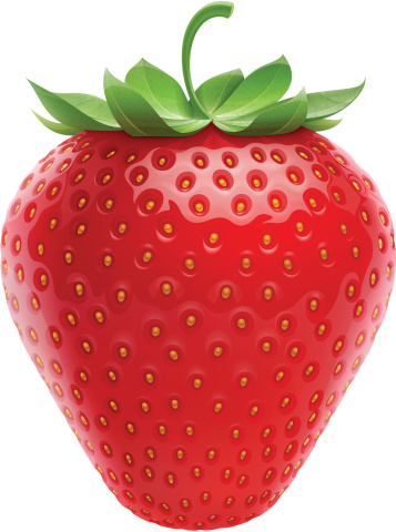 Strawberry Stock Illustration - Download Image Now