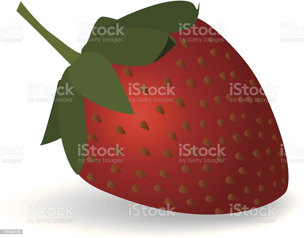 Strawberry royalty-free strawberry stock vector art & more images of berry fruit