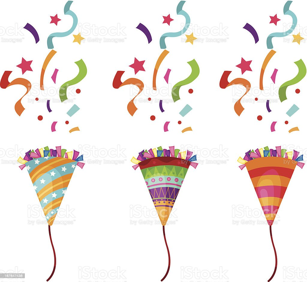 clip art 800px colourbox11312264 happy new year 2019 info streamers and confetti shooting out of popped party poppers royalty free streamers and