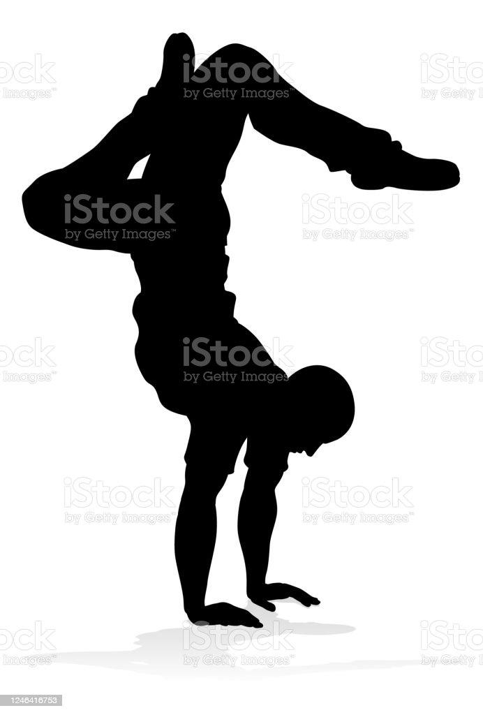 Street Dance Dancer Silhouette Stock Illustration Download Image Now Istock