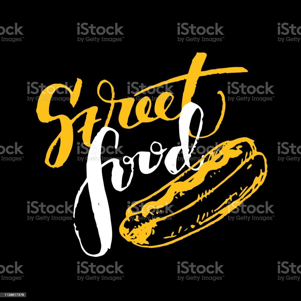 Street food banner