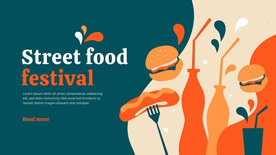 Street food festival template