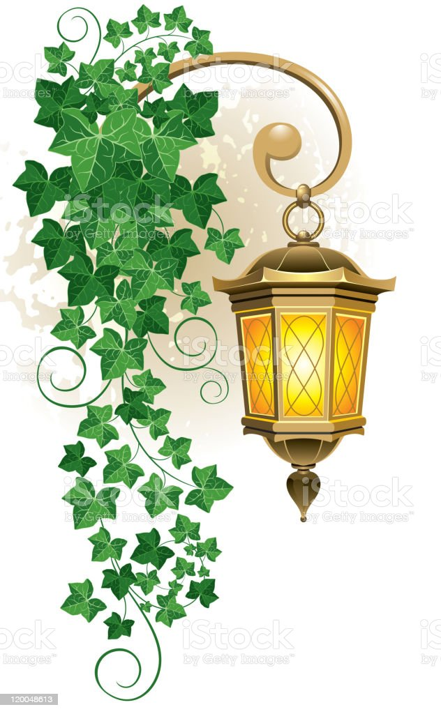 Street lantern royalty-free stock vector art