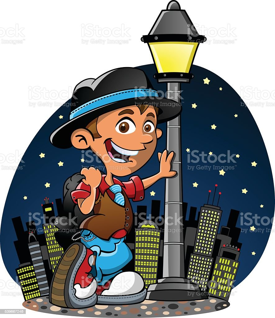 Street Light royalty-free street light stock vector art & more images of boys