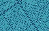 istock Street Map Background 1299800509