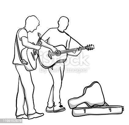 istock Street Musician Jam 1199152679