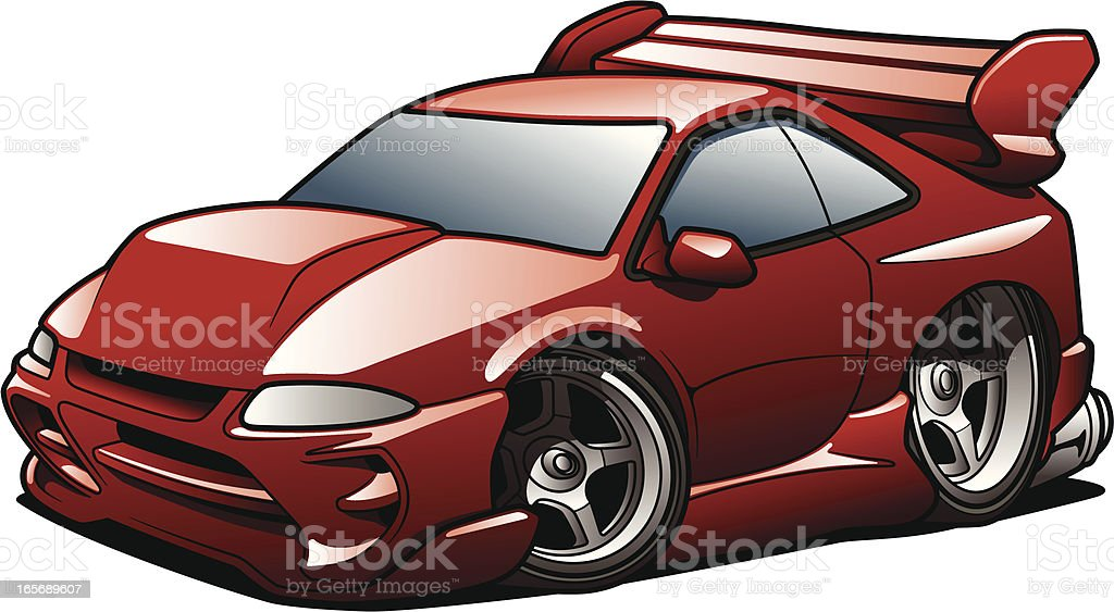Street Racer - Royalty-free Car stock vector