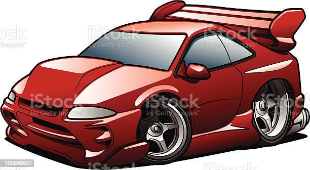 Street Racer Stock Illustration - Download Image Now