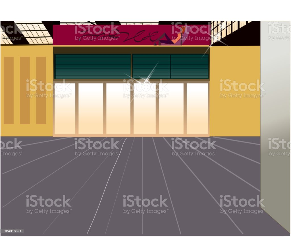 Street shop exterior royalty-free street shop exterior stock vector art & more images of absence