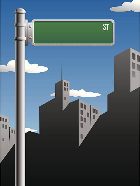 ilustraciones, imágenes clip art, dibujos animados e iconos de stock de señal de calle - señalización vial