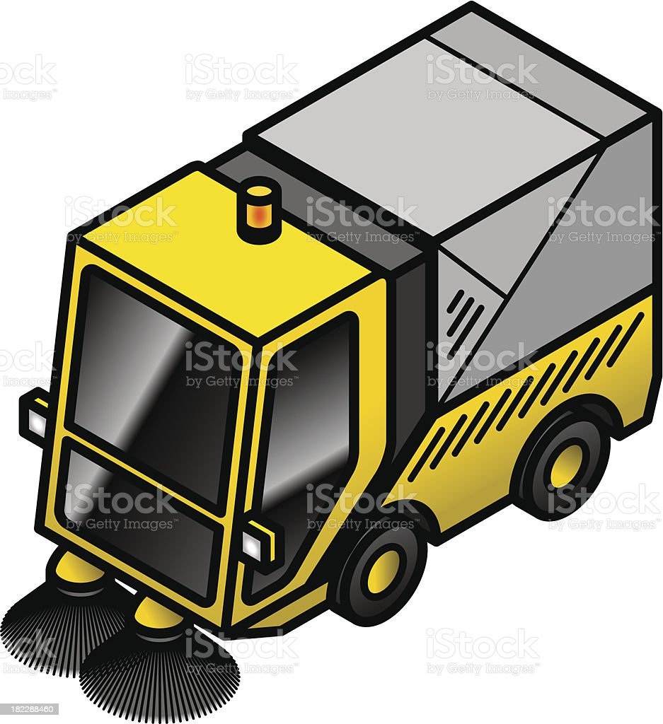 Street sweeper royalty-free street sweeper stock vector art & more images of civilian