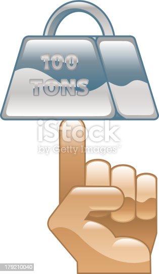 istock Strength concept icon 179210040
